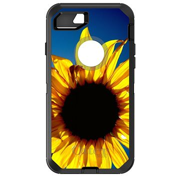 DistinctInk™ OtterBox Defender Series Case for Apple iPhone / Samsung Galaxy / Google Pixel - Blue Yellow Sunflower Sky