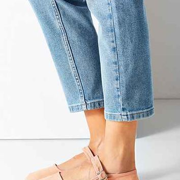 Cotton Mary Jane Flat - Urban Outfitters