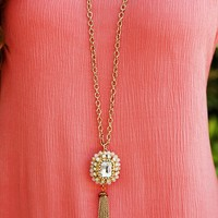 All Good Things Necklace: Gold/Multi