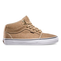 Vans Outdoor Chukka Midtop Mens Shoes Tan  In Sizes