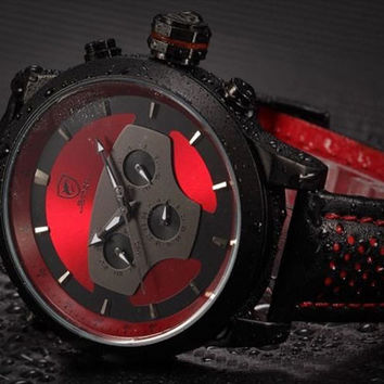 "Exotic Shark Sports Military Style Watch ""F16"""