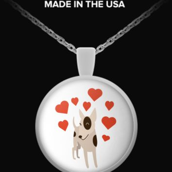 Must Have Adorable Pit Bull Lover Necklace pitbulluv
