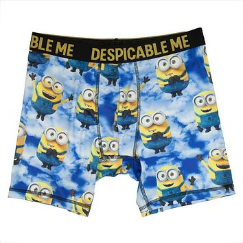 Despicable Me Boxers Mininons Mens Underwear Despicable Me Underwear - Minions Boxers Despicable Me Mens Underwear