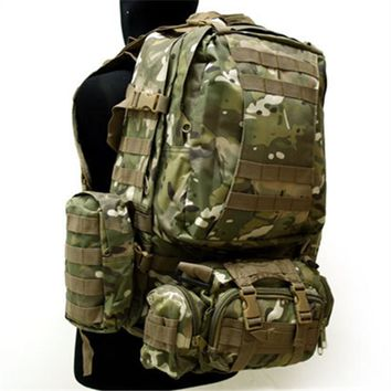 outdoor military tactical backpack US Army Tactical Molle Assault Backpack Bag Multicam ACU Dark Green BK