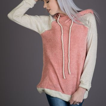 All About Abby Hoodie in Pink