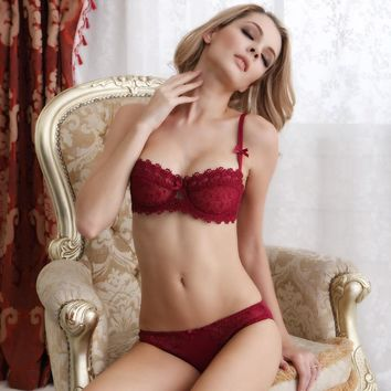 Cute On Sale Hot Deal Sexy Lace Bra Ladies Set Exotic Lingerie [6596792387]