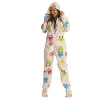 Monster printed Footed Pajama