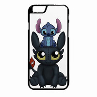 Stitch And Toothless Can I Sit Here iPhone 6S Plus case