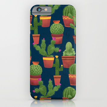 Terra Cotta Cacti iPhone & iPod Case by Noonday Design