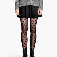 Dotted Tights - from H&M