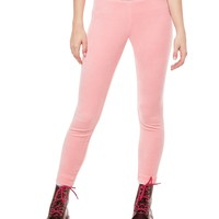 Juicy Jacquard Stretch Velour Legging