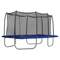 Skywalker Rectangle Trampoline with Enclosure - Blue (15')
