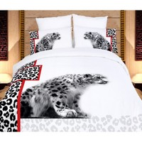 Safari Themed Luxury Queen Bedding Duvet Covet Set Dolce Mela DM431Q - Gifts for You and Me