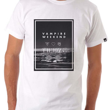 Vampire Weekend Arctic Monkeys The 1975 TShirt Tee Shirts For Men and women with beauty variant color for Unisex Size