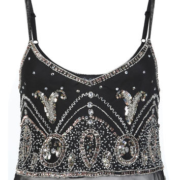 Gold Rush Embellished Cami Top - View All