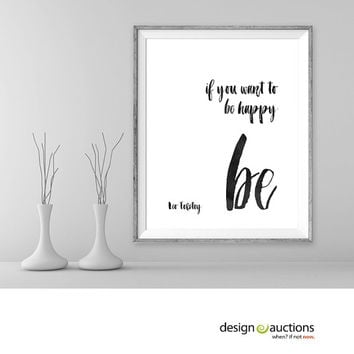 Leo Tolstoy quote printable quotes typographic printable art literature quotes writers quotes minimalist art prints instant download prints