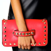 Holly Stud Handle Clutch