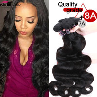 8A Unprocessed Peruvian Body Wave 4 Bundles Virgin Hair Cheap Peruvian Virgin Hair Body Wave 4Pcs/Lot Weave Human Hair Extension
