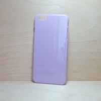 For Apple iPhone 6 Plus (5.5 inches) Light Lavender Hard Plastic Case