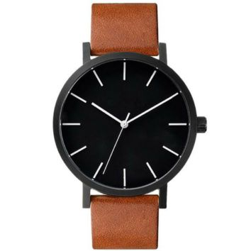 Minimalist Quartz Analog Watch