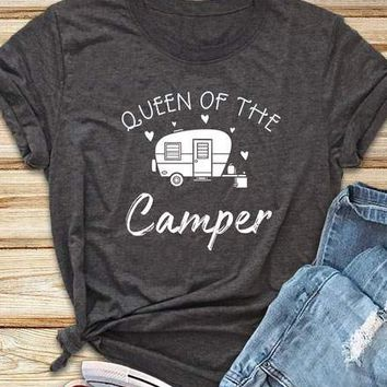 Queen Of The Camper. T-Shirts