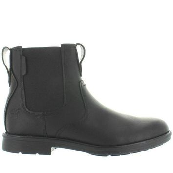 CREYONIG Timberland Earthkeepers Carter Notch - Black Leather Chelsea Boot