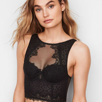 Chantilly Lace High-neck Bra - Dream Angels - Victoria's Secret