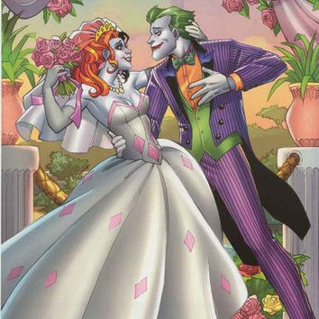 The Joker and Harley Quinn DC Comics Poster 22x34