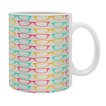 Allyson Johnson Neon Glasses Coffee Mug