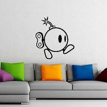 Wall Stickers Vinyl Decal Funny Bomb Blast Home Decor Unique Gift ig1481