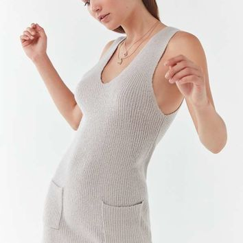 UO Knit Sleeveless Sweater Dress | Urban Outfitters
