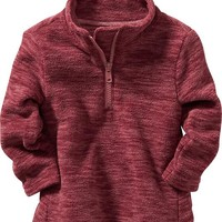Old Navy Space Dye Performance Fleece Pullover For Baby