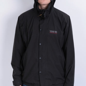 Tog 24 Mens L Vintage Jacket Gore-Tex Black Hood Full Zipper