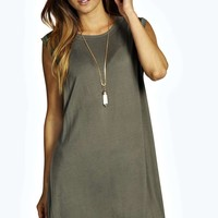 Freya Drop Armhole T-Shirt Dress