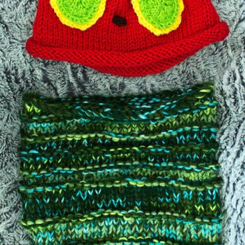 Hungry Caterpillar Hat and Cocoon, Character Inspired