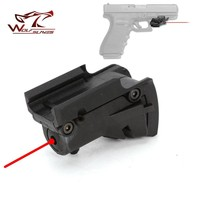 Tactical 5mw Red Laser sight Scope red dot for Glock 19 23 22 17 21 37 31 20 34 35 37 38 Pistol Rifle Airsoft Hunting Accessory