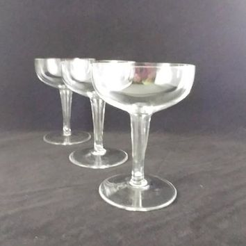 Hollow Stem Champagne Coupes  S/3