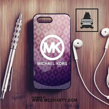 MICHAEL KORS LOGO PURPLE IPHONE 7 | IPHONE 7 PLUS