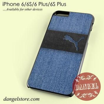 blue jeans puma phone case for iphone 6 6s 6 plus 6s plus  number 1