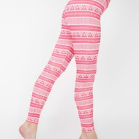 rsa8349p - Printed Cotton Spandex Jersey High-Waist Leggings