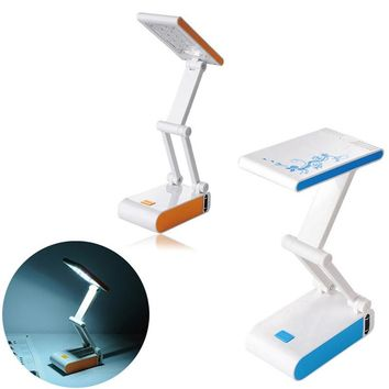 Foldable and Adjustable Eyecare Built-in Rechargeable Battery Desk Table Lamp E2shopping --M25