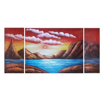 Fire on the Mountains Art Oil Paintings