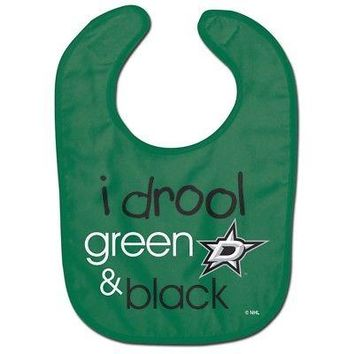 Licensed Dallas Stars Official NHL Infant One Size Baby Bib by McArthur 219541 KO_19_1