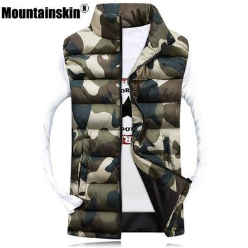 U.S. Military Army Urban Camo Camouflage Winter bubble vest Mens jacket coat
