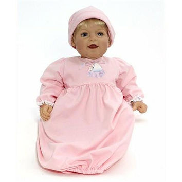 Middleton Doll Cuddle Baby Mother's Joy Girl - Blonde Hair/Blue Eyes - Madame Alexander - Collectible Dolls - FAO Schwarz®