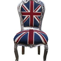 Luxury Union Jack Upholstered Chair from Made With Love | Made By MWL | £345.00 | Bouf