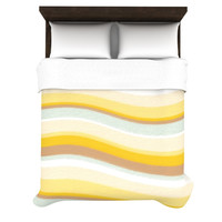 "Nika Martinez ""Desert Waves"" Duvet Cover"