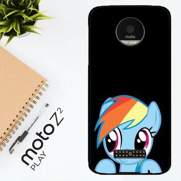 Mlp Rainbow Dash R0198 Motorola Moto Z2 Play Case