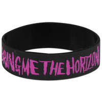 Bring Me The Horizon Rubber Bracelet