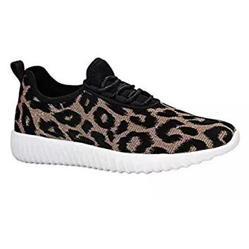 f6305f64192c Leopard Glitter Sneakers - Kids and Adult